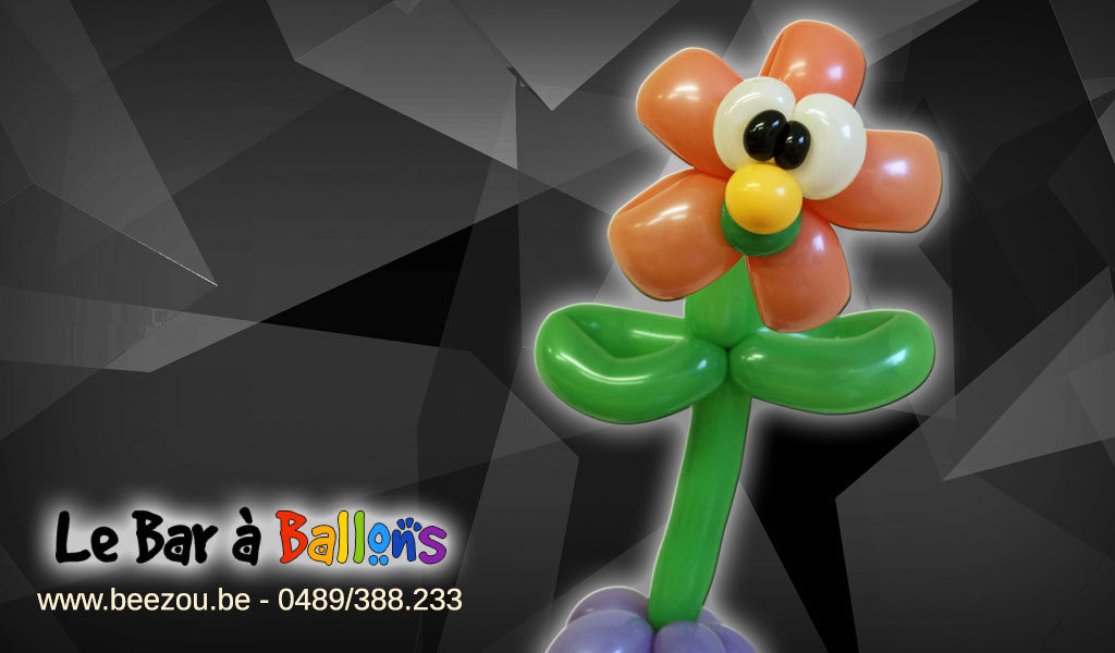 sculpture de ballon flowy