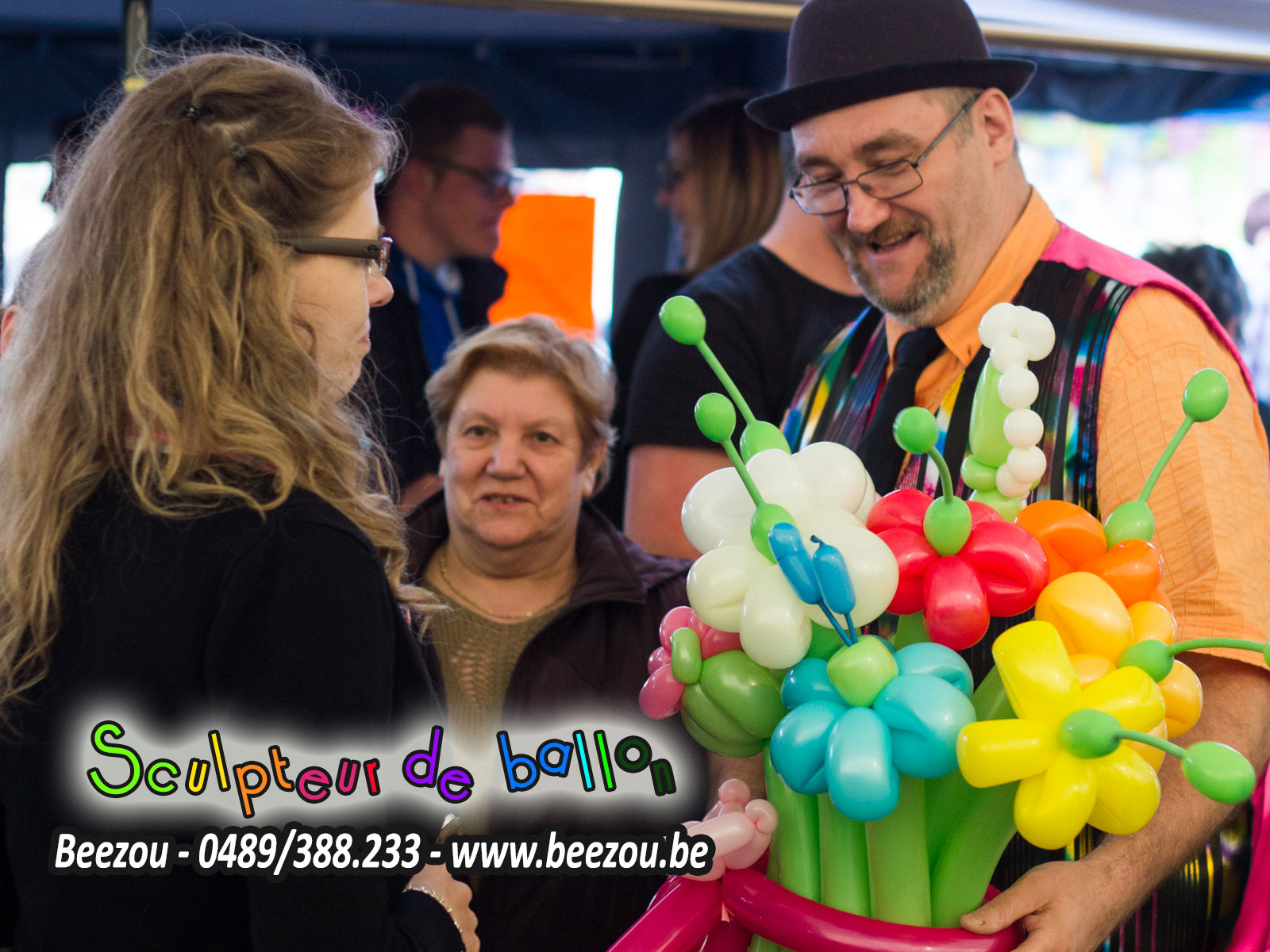 sculpteur de ballon manage